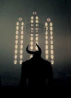 devil in a church | demon king | paranormal fantasy | Follow Pithy Flamingo for more writing inspiration