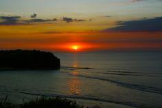 Sunset at Balangan beach, Bali