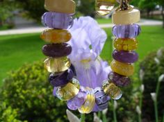 IRIS!  A beautiful Trollbeads design created to match her garden.  Thank you JB!!  Join us on the Trollbeads Gallery Forum!