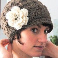 bohemian crochet hat pattern | PDF Pattern Crochet Little Rocker Mohawk Hat with by maybematilda on ...
