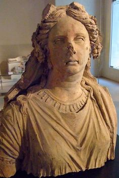 Etruscan terracotta funerary monument, 3rd-2nd century BCE