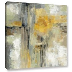 Silvia Vassileva 'Sun and Rain' Gallery Wrapped Canvas   Overstock.com Shopping - The Best Deals on Gallery Wrapped Canvas