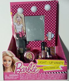 Barbie Light Up Vanity with Make Up *** See this great product.