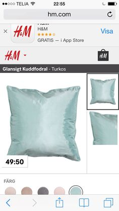 Turkos kudde
