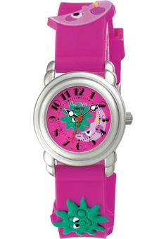 Price:$11.99 #watches Activa SV653-003, This kids timepiece from Activa is cute and colorful, designed with a charming cartoon style character.