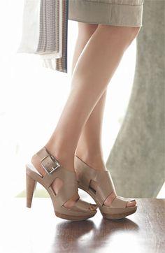 MICHAEL Michael Kors 'Carla' Sandal | Nordstrom ... Love these!!!