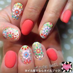 Dotted nail art