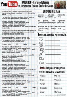 Bailando - Enrique Iglesias ft Gente de Zona