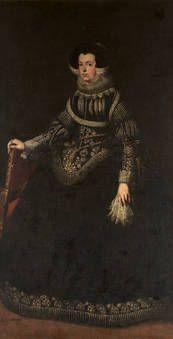 """Isabel de Francia, primera esposa de Felipe IV"", Anónimo, SXVII"