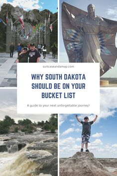 South Dakota is an amazing state & has so much to offer! Check out our list of why it should be on your travel bucket list! babies flight hotel restaurant destinations ideas tips Best States To Visit, Places To Visit, Badlands National Park, National Parks, Travel Usa, Travel Tips, Travel Ideas, Travel Destinations, Travel Hacks