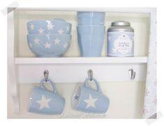 Cojines de silla-hüllle azul 40x40 cm-Twinkle Little Star