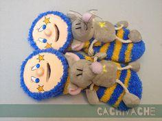 cachivache: Huchas calcetín ratolin