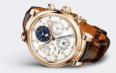 IWC Schaffhausen | International Watch Company | Collection | IWC Da Vinci | Da Vinci Perpetual Calendar Chronograph