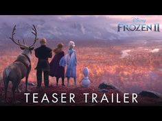 """Disney has just released a brand new teaser trailer for """"Frozen 2,"""" the sequel to the 2013 box office hit """"Frozen."""" Jennifer Lee, Kristen Bell, Idina Menzel, Frozen Disney, New Trailers, Movie Trailers, Teaser, No Manches Frida, Trailer Youtube"""