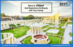 #Jaipur,the capital of Rajastan,the pink and magnificent city of India. Experince the nature and its beauty when you shift to Jaipur with your family. Click here to know more about #RelocatingToJaipur	#best5packersmovers #packersandmoversinjaipur #moversandpackersinjaipur