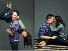 Alisandra Photography | Studio Engagement Shoot