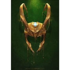 Marvel Comics Gilded Iron Man And Loki Illustrations by Sam Spratt ❤ liked on Polyvore featuring loki, avengers, comic and marvel