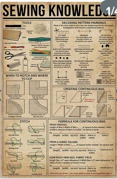Sewing Basics, Sewing For Beginners, Sewing Hacks, Sewing Tutorials, Sewing Crafts, Sewing Projects, Sewing Patterns, Sewing Stitches, Sewing Tips