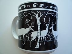 Deer - Primitives Mug