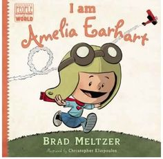 children's book about heroes.  By Brad Meltzer