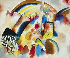 Wassily Kandinsky. Landscape With Red Spots, 1913