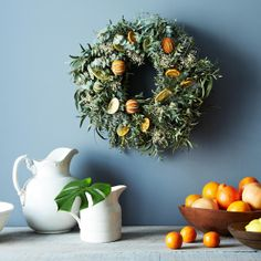 Citrus Wreath on Food52: http://food52.com/provisions/products/809-citrus-wreath #Food52