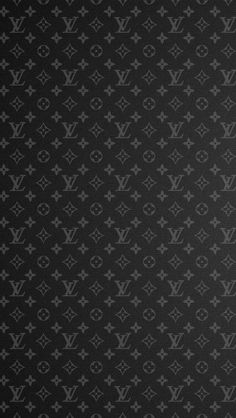 ルイヴィトン/モノグラムブラック iPhone壁紙 Wallpaper Backgrounds iPhone6/6S and Plus LOUIS VUITTON