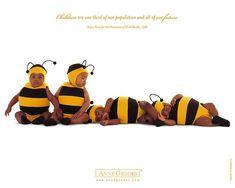 Anne Geddes Baby Bumblebees