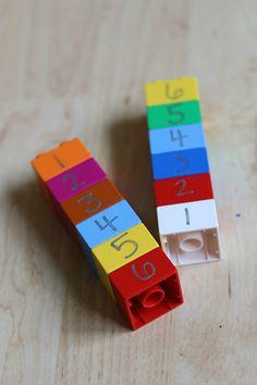 lego math for preschool math