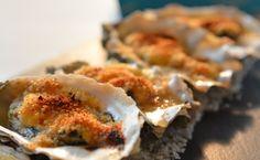 Huîtres gratinées au Pineau des Charentes