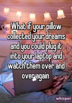 That would be amazing and terrifying haha