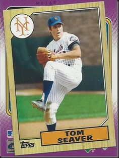 Tom Seaver – 2012 Topps 1987 mini #TM91