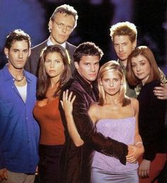 Buffy Cast segunda temporada