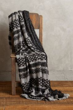 Lace-Ladder Throw - anthropologie.com