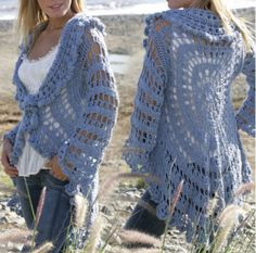 Crochet Lace Jacket Free Pattern And Ideas Galore   The WHOot