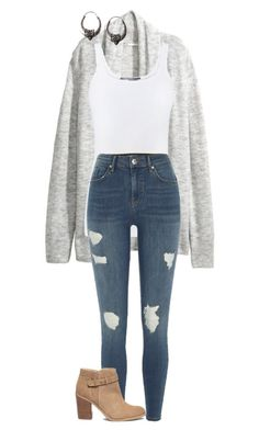 """#171"" by mintgreenb on Polyvore featuring Vince, River Island and Sole Society"