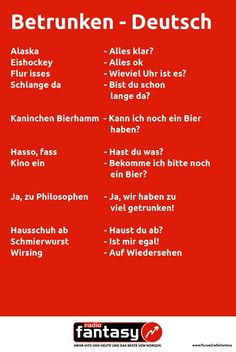 Drunk - German :D hahahahahaha Funny Shit, Funny Pins, Hilarious, Funny Stuff, Random Stuff, Funny Facts, Funny Quotes, Words Quotes, Sayings