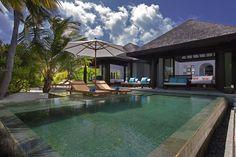 Family Beach Pool Villa Exterior, Anantara Kihavah Villas, South Maalhosmadulu Atoll (Baa), Northern Group Islands, Maldives