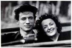 Edith Piaf et Yves Montand