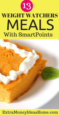 13 Ultimate Weight Watchers recipes with Smart Points. The best Weight Watchers recipes with Smart Points to help you lose weight faster and stay healthy Weight Watcher Dinners, Weight Watchers Desserts, Stay Healthy, Healthy Weight, Easy Healthy Recipes, Healthy Food, Recipe For Teens, Weightwatchers Recipes, Lose Weight