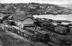 Huntsville Ontario, Train