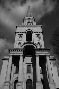 Christ Church Spitalfields, London, built 1714–29