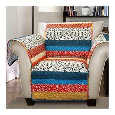 Lush Decor Boho Stripe Armchair Furniture Protector - on #sale 61% off…