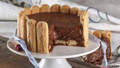 Receita de Charlotte de chocolate. Descubra como cozinhar Charlotte de chocolate de maneira prática e deliciosa com a Teleculinária!