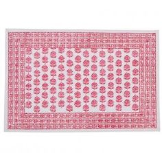 Pomegranate Annisa Pink Placemats | Pomegranate Inc.
