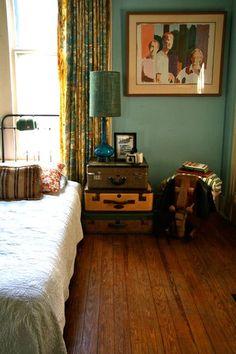 The Plumed Nest: Favorite Finds {12} Vintage Suitcase DIY Design Inspiration Love!
