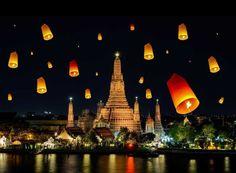 Loi Krathong Festival  Bangkok | Thailand