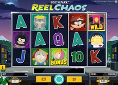South Park Reel Chaos slot powered by NetEnt features a ton of exciting bonuses and makes for an excellent online gambling experience. South Park, Free Slot Games, Free Slots, Casino Night, Casino Party, Online Casino Reviews, Gambling Sites, Special Symbols, Popular Cartoons
