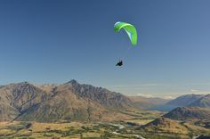 Paragliding from Coronet Peak, Queenstown, New Zealand. My happy place.  For more New Zealand inspiration check out my Instagram page @whereadventuresbe