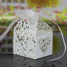 20pcs/lot #Wedding #Candy Box Paper Gift #Cupcake Boxes for Festival Banquet Decoration party supplies
